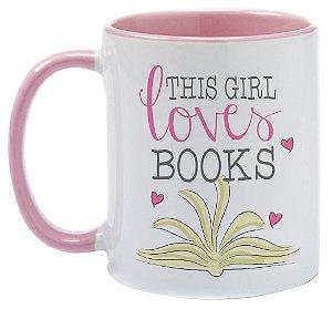 Caneca - Bookstagram - This Girl