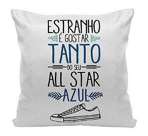 Almofada - Musica All Star Azul