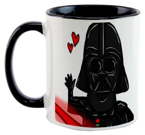 Caneca Star Wars - Darth Vader Love