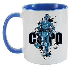 Caneca - Star Wars - C3PO