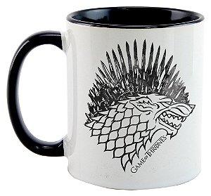 Caneca Game of Thrones - Trono Stark