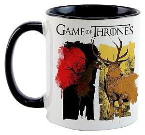 Caneca Game of Thrones - Casas