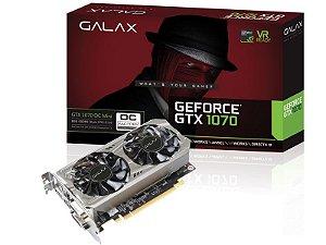 Geforce Galax Nvidia Gtx 1070 Oc Mini 8Gb Ddr5 256Bit 8000Mhz