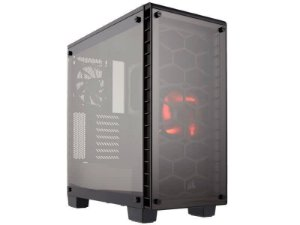 Gabinete Gamer Corsair CC-9011099-WW Crystal Series 460X Vidro Temperado Atx