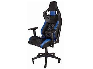 Cadeira Gamer Corsair T1 Race Preta/Azul