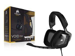 Headset Gamer Corsair Void Dolby 7.1 Carbon