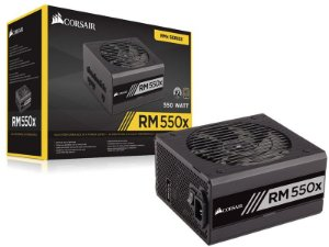 Fonte 80Plus Gold Corsair Rmx 550W Atx Modular S/ Cabo De Força