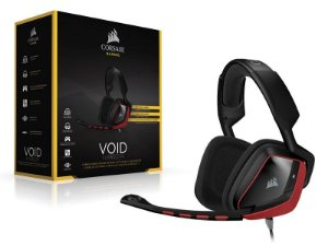Headset Gamer Corsair Ca-9011144-Eu Void Dolby 7.1 Red