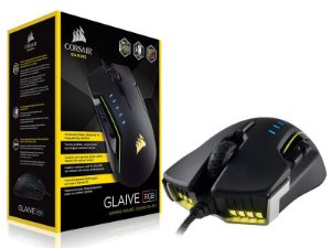 Mouse Gamer Corsair Ch-9302111-Na Glaive Optico 16000Dpi Rgb Alumínio