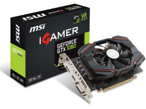 Geforce Msi Nvidia 912-V809-2463 Gtx1060 6Gb Igamer Ddr5 192Bit 8008Mhz