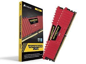 Memória Gamer Ddr4 Corsair Cmk32Gx4M2B3000C15R 32GB Kit (2X16Gb) 3000Mhz