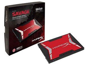 "Ssd Gamer Hyperx Shss37A/960G Savage 960Gb 2.5"" Sata Iii Box"