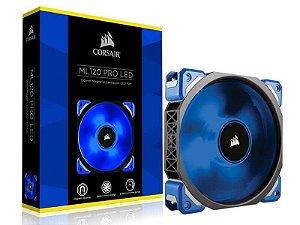 Cooler fan corsair ml120 pro 120 mm Co-9050043-Ww com led azul