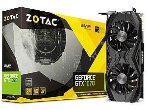 Geforce Zotac Nvidia Zt-P10700N-10P Gtx 1070 Amp 8Gb Ddr5 256Bit 8008Mhz