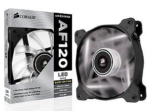 Cooler fan corsair af120 120 mm quiet edition Co-9050015-Wled led branco