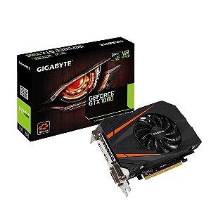Placa de vídeo nvidia gigabyte gtx 1060 mini ixt 6gb 192 bits gddr5 gv-n1060ix-6gd