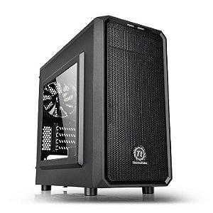 Gabinete Gamer Thermaltake Versa h15 CA-1D4-00S1WN-00 Micro Case Preto