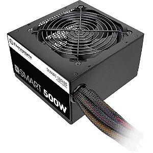 Fonte 80Plus Thermaltake 500w smart white PS-SPD-0500NPCWBZ-W