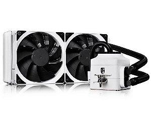 Water cooler Deepcool captain 240 ex branco, DP-GS-H12L-CT240W-EX