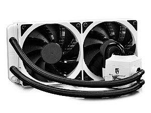 Water cooler Deepcool captain 240 ex branco RGB, DP-GS-H12L-CT240RGB-WH