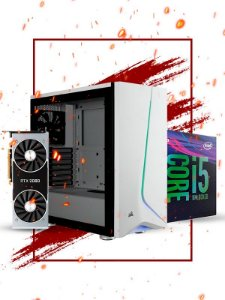 Pc Gamer Intel, i5 9600k, RTX 2080 8gb, 16gb de ram, 1tb hd, ssd 480gb, fonte 700w