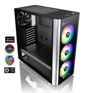 Gabinete Gamer Thermaltake Level 20MT Tempered Glass RGB Mid Tower, CA-1M7-00M1WN-00