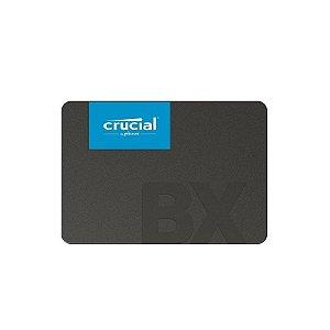 Ssd Crucial 480gb Bx500 Sata3 2,5 7mm, Ct480bx500ssd1