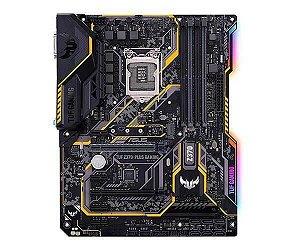 Placa mãe socket 1151 intel asus Tuf Z370-Plus Gaming RGB ddr4 8ª - 9ª geração