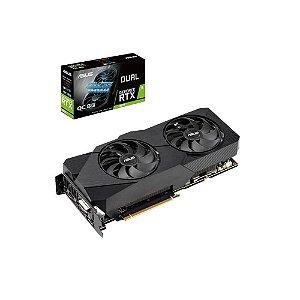 Placa de vídeo nvidia Asus RTX 2070 DUAL 8gb gddr6 256 bits, DUAL-RTX2070-O8G-EVO
