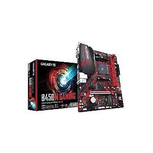 Placa mãe socket Am4 AMD Gigabyte B450M Gaming, 9MB45MGM-00-10