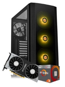 Pc Gamer Amd, R3 2200G, Rtx 2060 6gb, 8gb de ram, Ssd 240gb, fonte 500w
