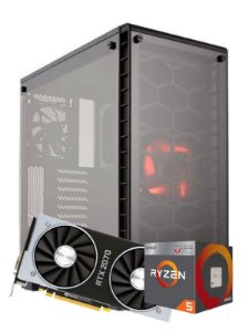 Pc Gamer Amd, R5 2600, Rtx 2070 8gb, 8gb de ram, Ssd 480gb, fonte 600w