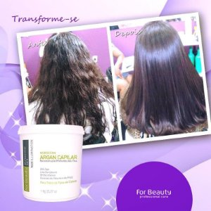 Max Illumination Argan Reconstrução Profunda FOR BEAUTY  1kg