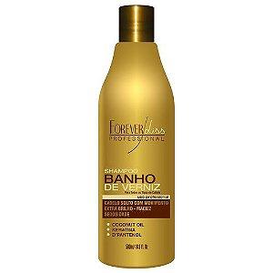 Shampoo Extra Brilho Banho de Verniz FOREVER LISS 500ml