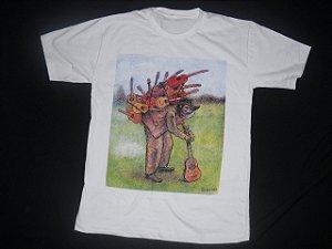 Camiseta Moda de Rock Toca Led Zeppelin CINZA (P, M, G, GG)