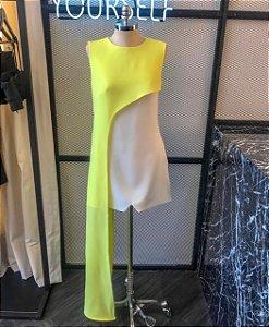 VS0159 - Vestido assimétrico sem manga