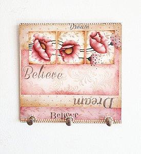 Porta caneca Believe Dream