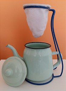 Coador de café grande com bule - 700ml