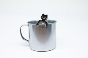 Colher de café gato