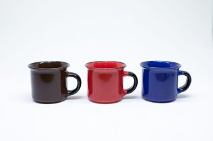 Caneca de porcelana para café colorida 70ml