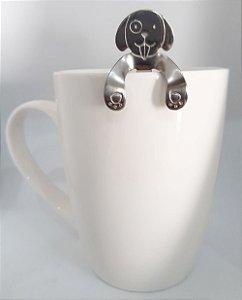 Colher de café cachorro