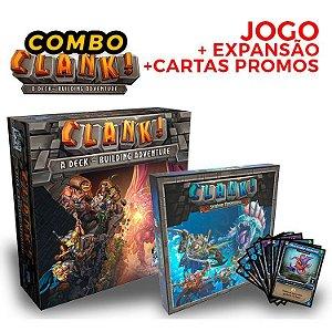 Combo Clank! Expansão + Promos