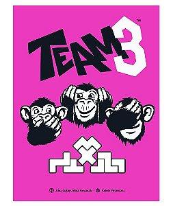 Team3 Pink (pré venda)