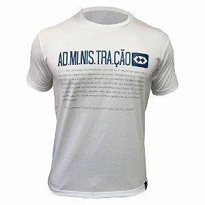 Camiseta de Administração 00134