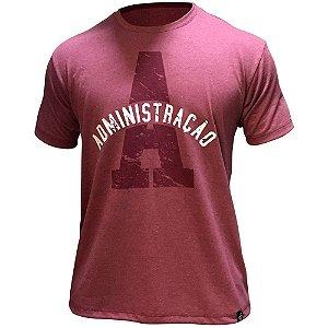 Camiseta de Administração 00201