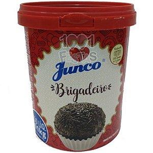 DOCE DE BRIGADEIRO PARA ENROLAR - DOCE DE SORO DE LEITE COM CHOCOLATE - 1,01KG -  JUNCO