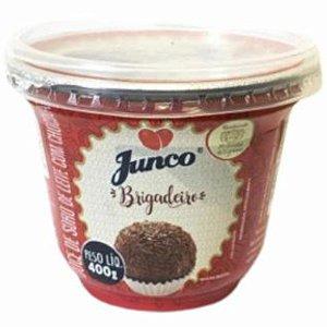 DOCE DE BRIGADEIRO PRONTO - DOCE DE SORO DE LEITE COM CHOCOLATE - 400G - JUNCO