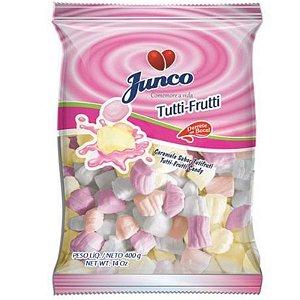 BALA COCO SABOR TUTTI-FRUTTI - 01 UNIDADE - 400G - JUNCO