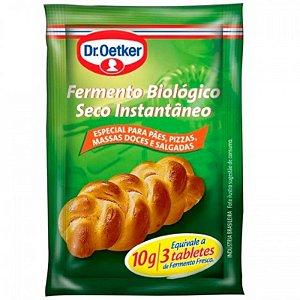 FERMENTO BIOLÓGICO SECO INSTANTÂNEO - COM 10G - DR. OETKER