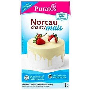 CHANTILLY NORCAU CHANTY MAIS LEITE CONDENSADO - 1L - PURATOS NORCAU